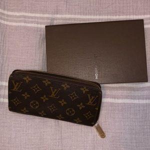 Large authentic Louis Vuitton wallet